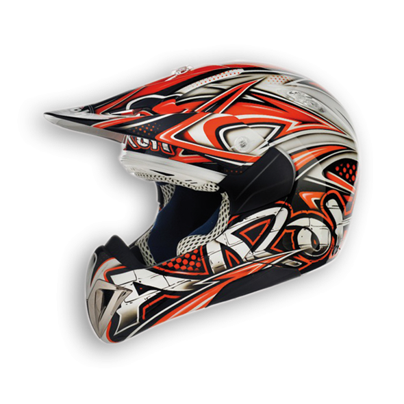 Casque motocross Airoh Enfant Mr Cross Tag à 119 euros sur www.mxkids.fr